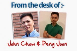 blogging with john chow and friend