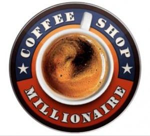 coffee shop millionaire logo