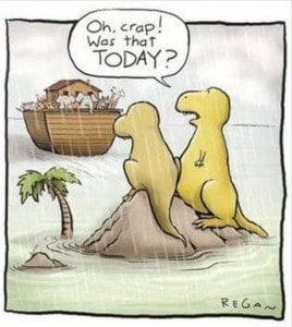 dinosaurs miss ark, you need to be organised