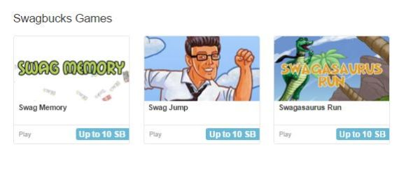 swagbucks games picture