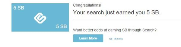 You've earnt swagbucks picture
