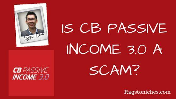 is CB passive income 3.0 a scam, CB passive income 3.0 review