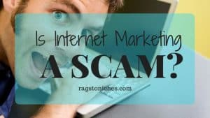 is internet marketing a scam