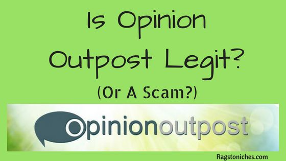 what is opinion outpost scam