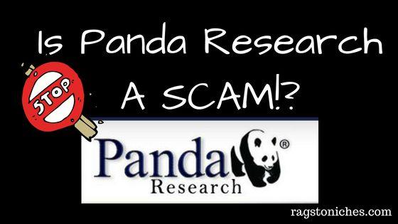 Is panda research a scam or legit