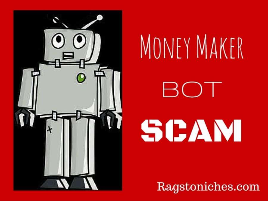 money maker bot review scam