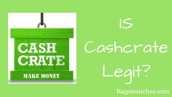 is cashcrate legit or a scam