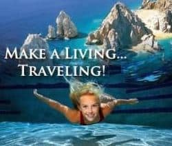 world ventures make a living travelling