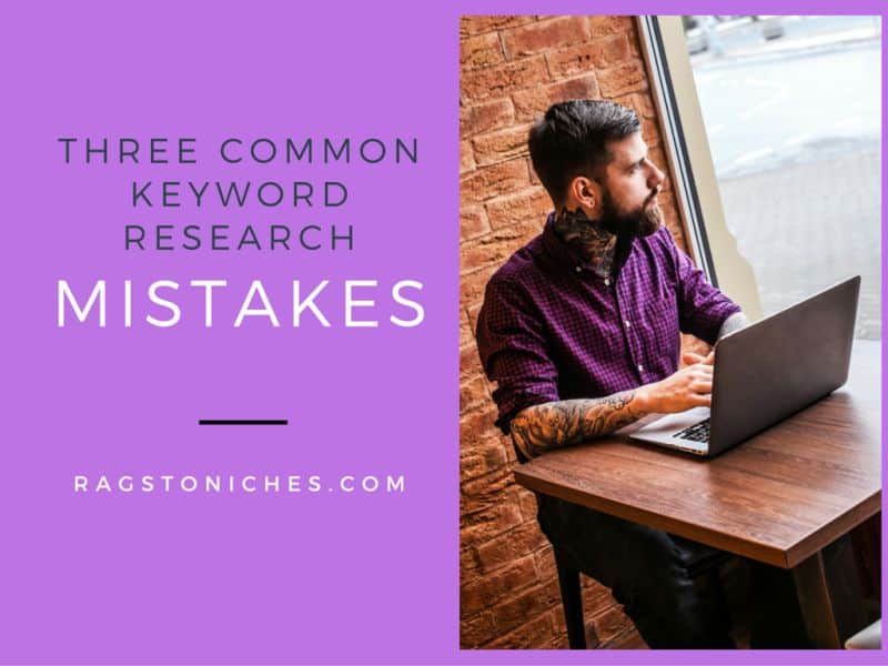 three common keyword research mistakes