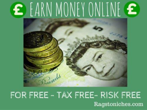 earn money online for free risk free