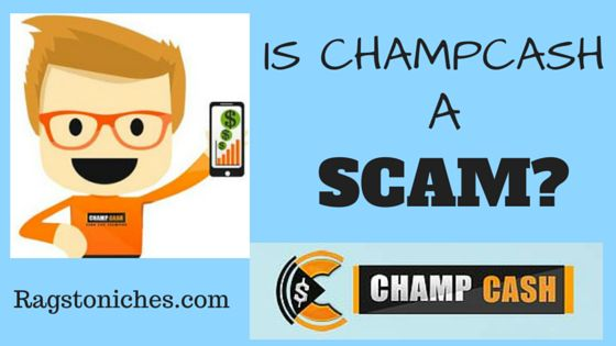 is champcash a scam, champcash review