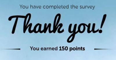 toluna thank you 150 points