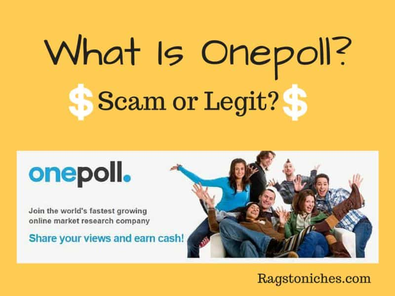 what is onepoll scam or legit