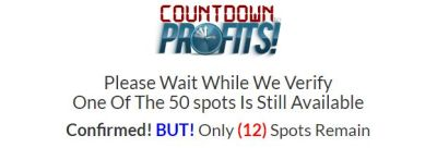 what is countdown to profits