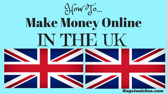 how to make money online in the UK