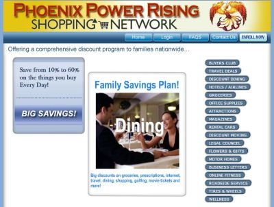 phoenix power rising shopping discounts