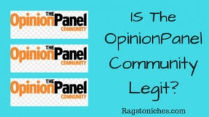 what is opinionpanel legit or scam