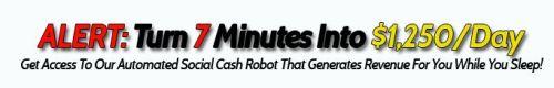 social cash robot money