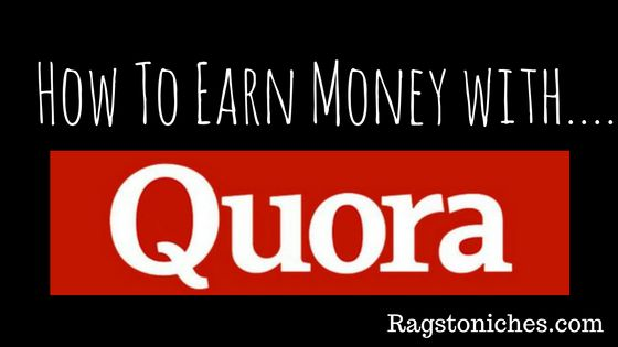 Earn money online with Quora