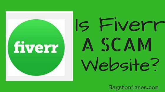 is fiverr a legit website or a scam