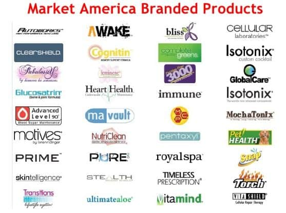 market america branded products