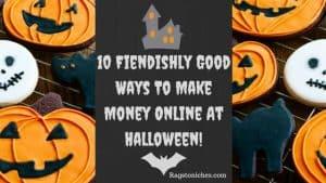ways to make money online at halloween