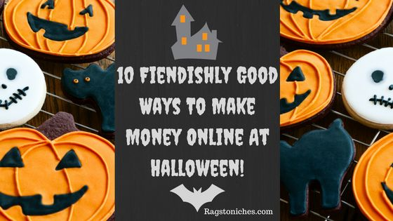 ways to make money online at halloween