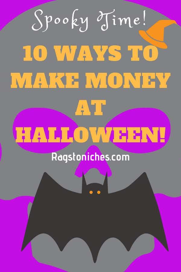 10 ways to make money at halloween