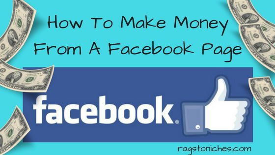 how to make money from a facebook page