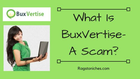what is buxvertise a scam