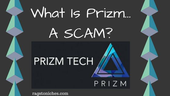 what is prizm a scam