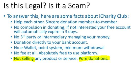 is icharity a scam