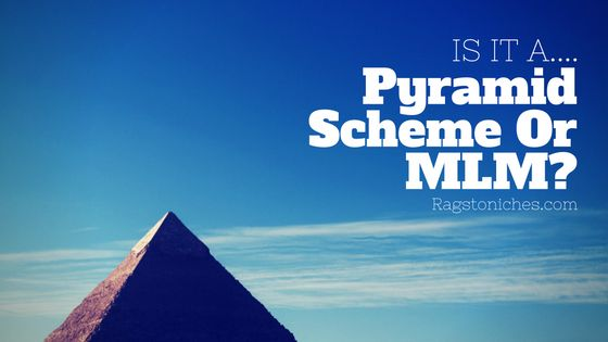 the difference between a pyramid scheme and multi level marketing