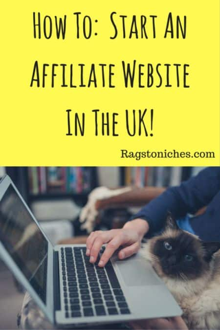 how to start an affiliate website in the uk