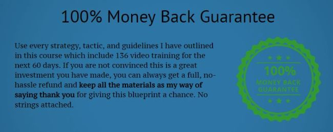 blogging guru blueprint money back guarantee