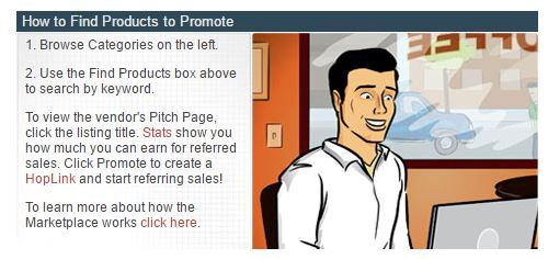 clickbank getting started