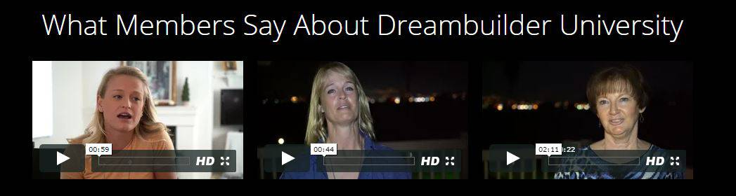 dream builder university testimonials