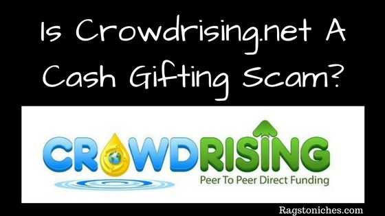 what is crowdrising.net a cash gifting scam