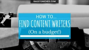 find content writers on a budget