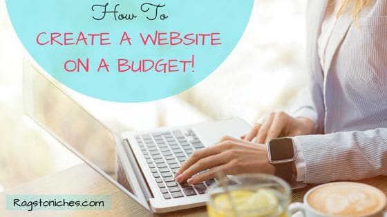 how to create a website on a budget