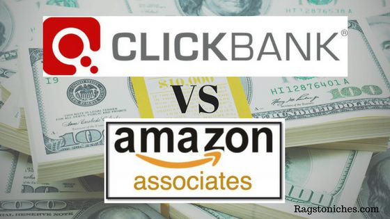 clickbank vs amazon affiliate program