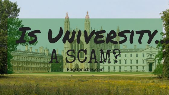Is university a scam