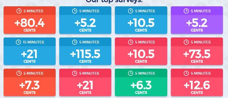 survey wall unique rewards