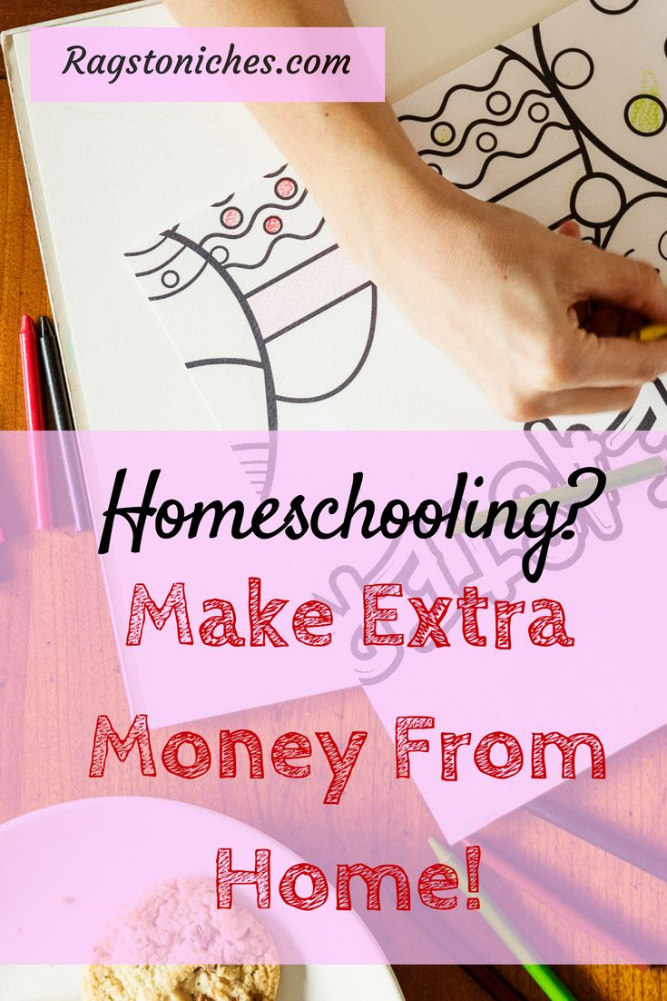 homeschooling make extra money from home