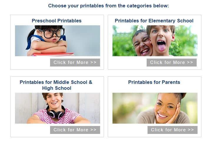 homeschooling printables