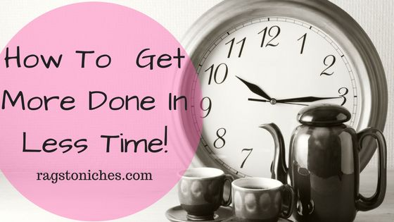 how to get more done in less time online