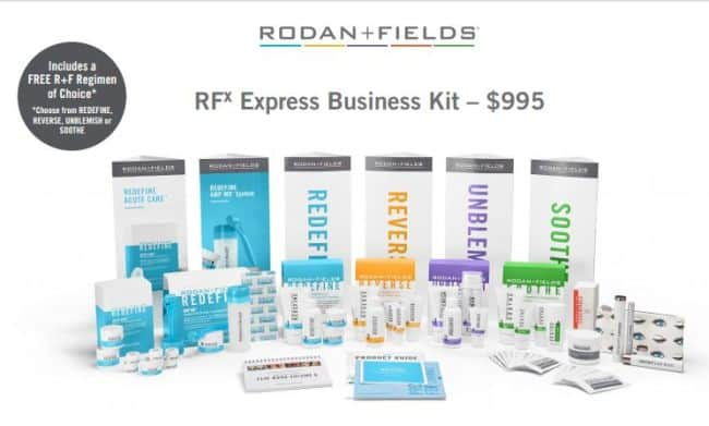 rodan fields express business kit