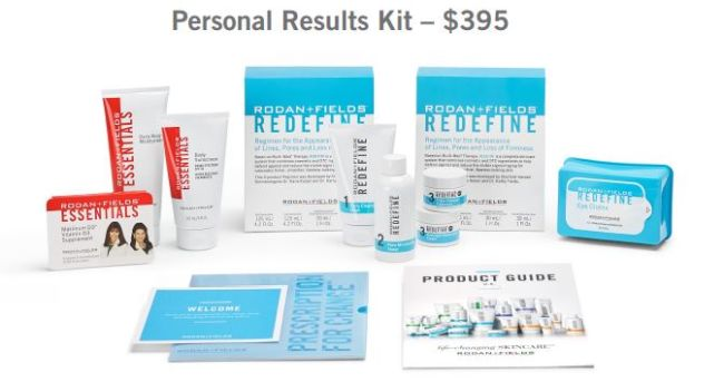 rodan fields personal result kit