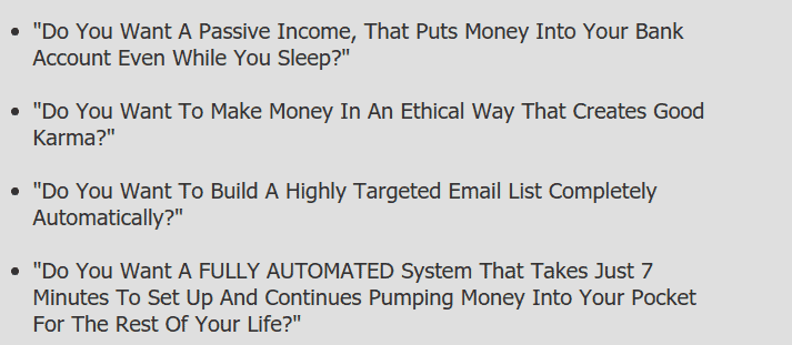 auto affiliate program passive income
