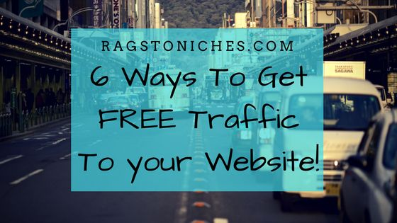 how to get free traffic to your website or blog